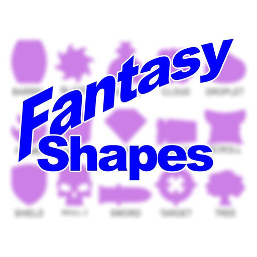 Fantasy Shapes - Personalized Game Tokens (10) - LITKO Game Accessories