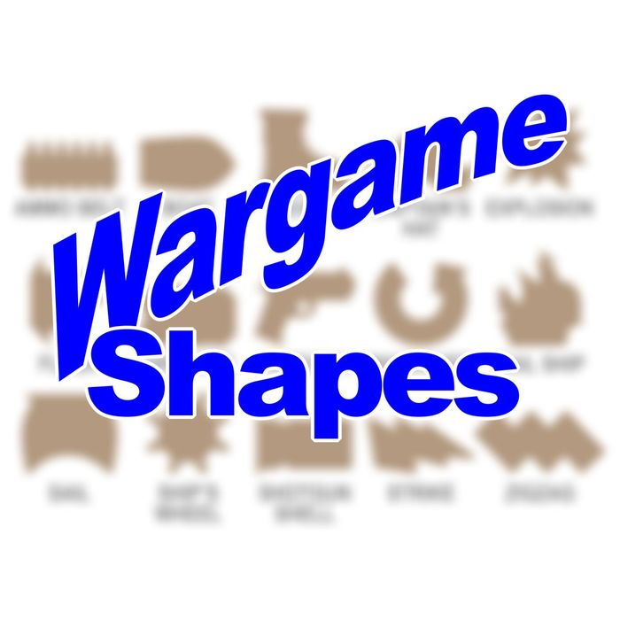 Wargame Shapes - Personalized Game Tokens (10) - LITKO Game Accessories