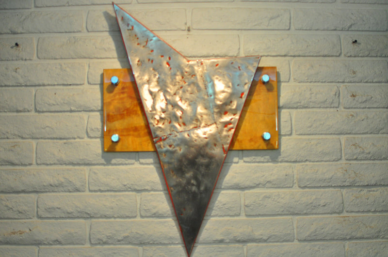 Wood and Metal Artwork