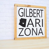 arizona wood sign