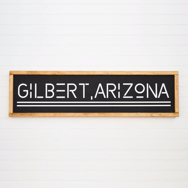 Gilbert Arizona sign