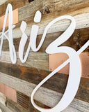 Barn Wood Copper Accents Arizona Wall Art