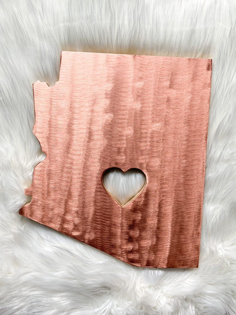 Copper Arizona Wall Art
