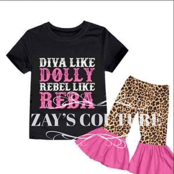 MOMMY COUNTRY DIVA SET