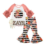 GIRLS FANCY PUMPKIN SET