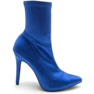 SOCK IT TOO ME - ROYAL BLUE, Booties,SavvyUnltd- SavvyUnltd