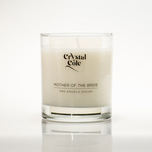 Personalised Mother of the Bride - scented candle