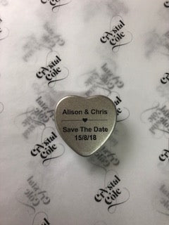 Save The Date Wedding Scented Tealight Candles