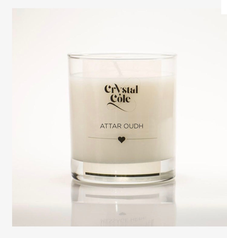 Attar Oudh Scented Candle