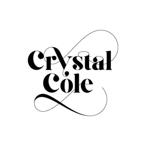 Crystal Cole 40mm round sticker