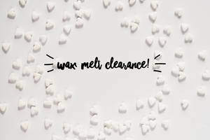 Wax melt clearance bars