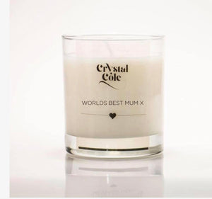 Personalised full sized Mothers Day Candle