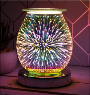 Firework electric touch aroma lamp