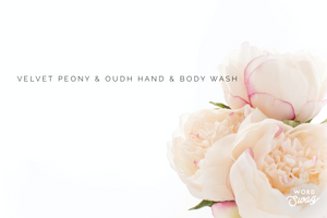 300ml Velvet Peony and Oudh Luxury Liquid Hand & Body Wash
