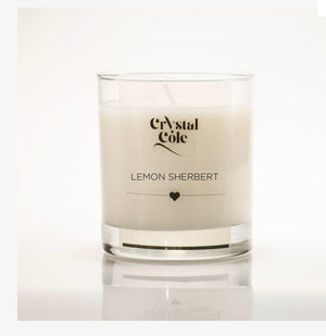 Lemon Sherbert Scented Candle