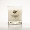 scented candle with your personalised wording