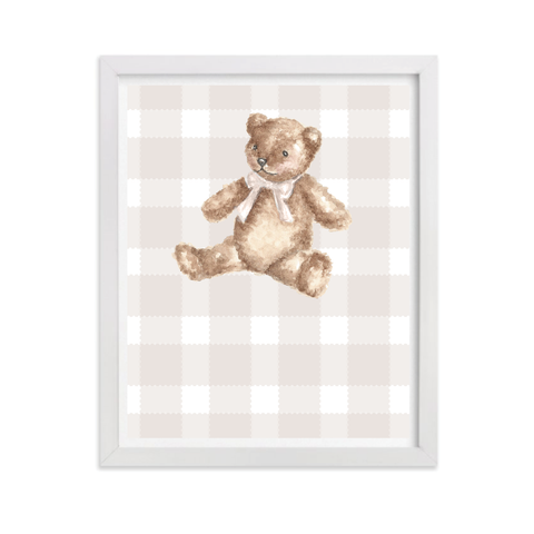 Beary Special DIGITAL YOU PRINT Art Only Party Sign by Sugar B Designs