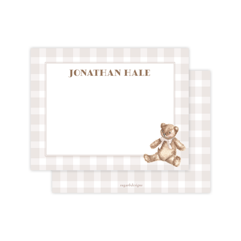 Beary Special Flat Stationery