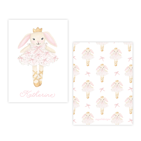 Bella Bunny Tutu 4 Bar Gift Tag