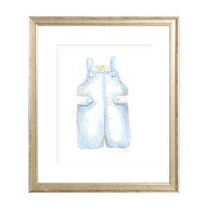Boy John John Watercolor Print