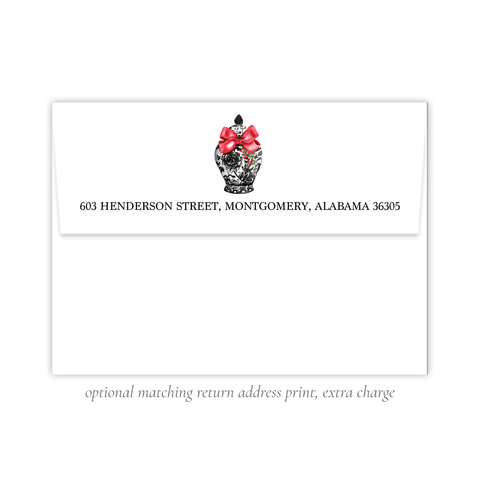 Byram Black Ginger Return Address Print