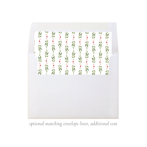 Clayton Wreath A7 Square Envelope Liner