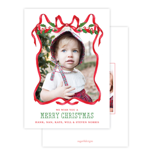 Caddell in Red Christmas Card