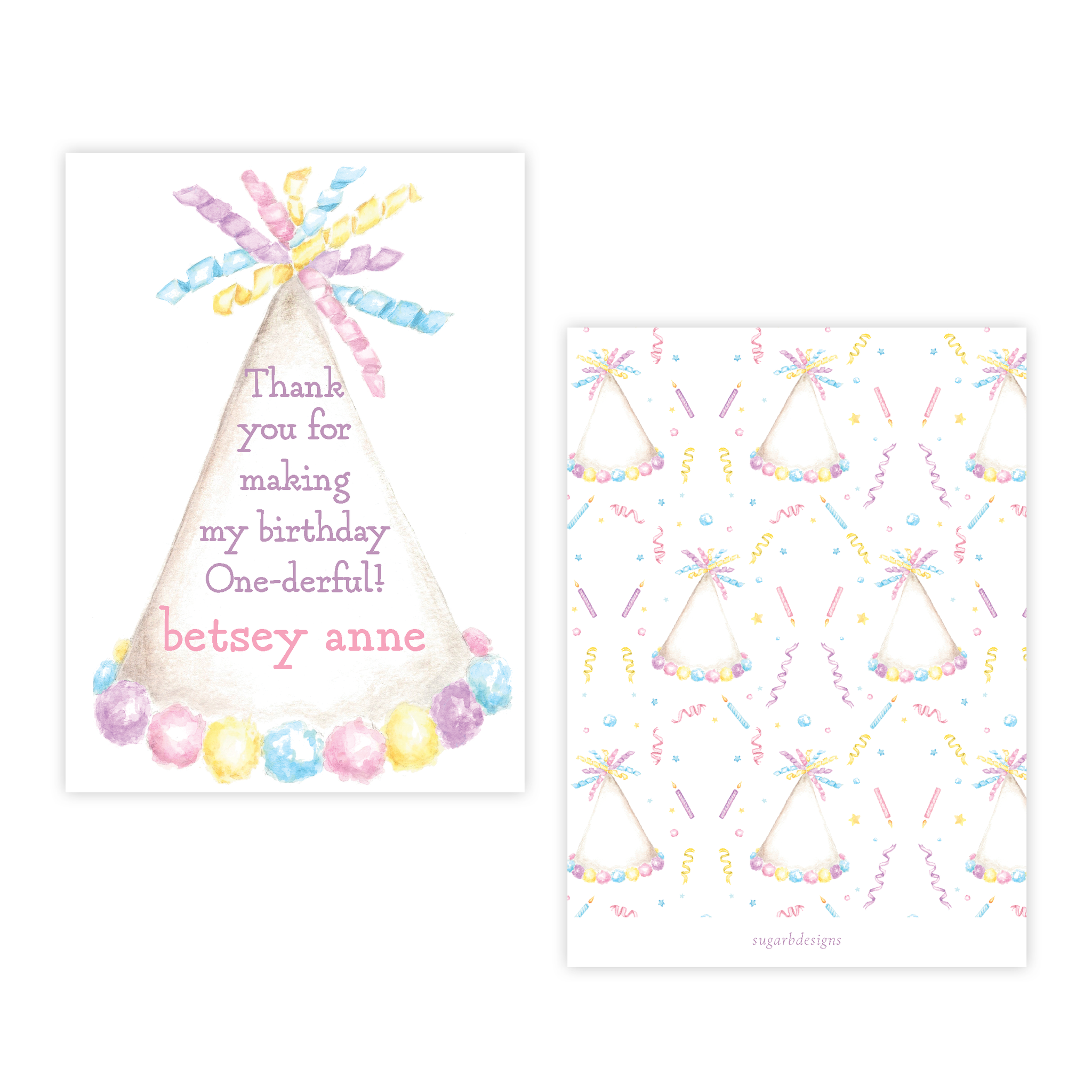 Celebration Sensation Party Favor Gift Tag