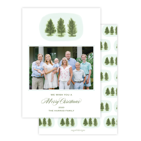 Ellis Trees Christmas Card Portrait