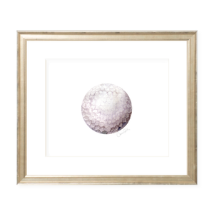 Golf Landscape Watercolor Print