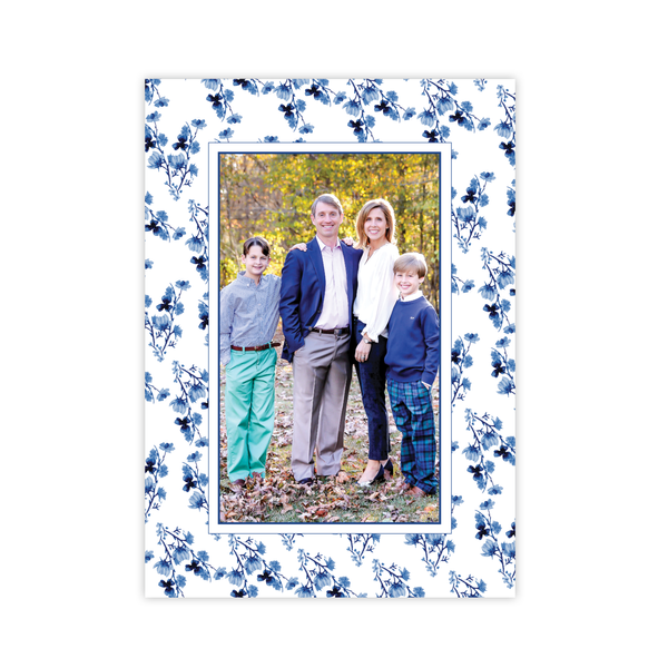 Hopkins Pattern Vertical Christmas Card