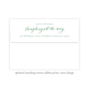 Isle of Palms Christmas Return Address Print