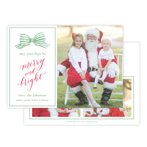 Isle of Palms Green Christmas Card
