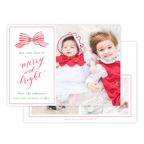 Isle of Palms Red Christmas Card
