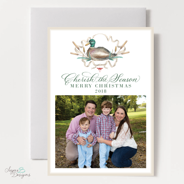 Julie Orr Custom Holiday Card 2018