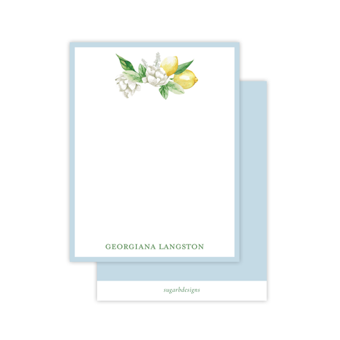 Laurie Lemon Flat Stationery