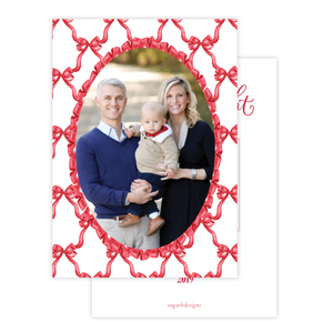 Leslee Bow Red Christmas Card