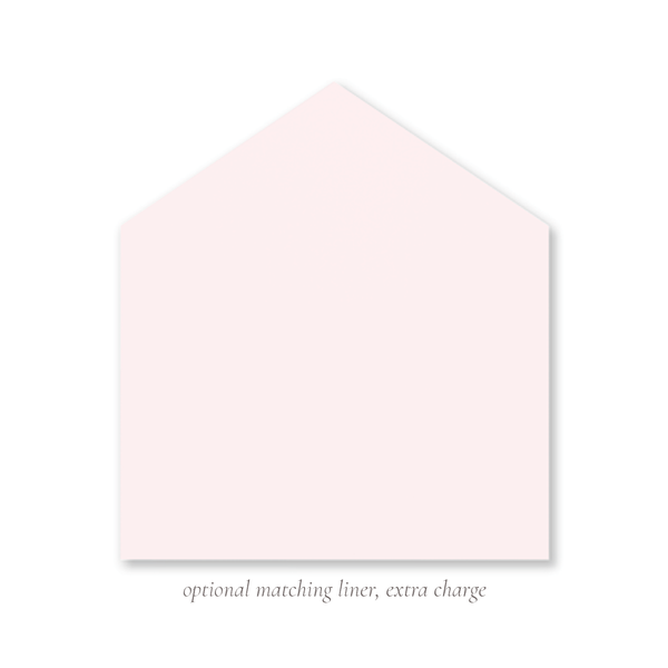 Lovely Lily James Pink Border Name Fold Over Stationery