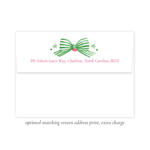 Marching Toy Soldier Tinsel Return Address Print