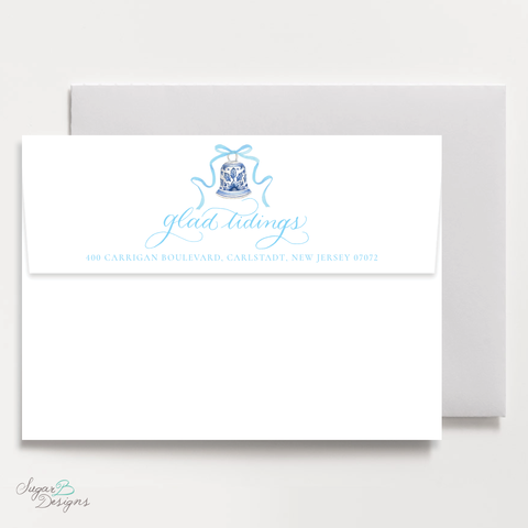 The Mitchell Manor Blue Return Address Print