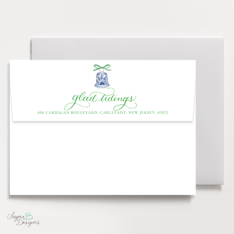 The Mitchell Manor Green Return Address Print