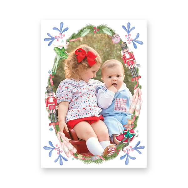 Nutcracker Suite Vertical Christmas Card