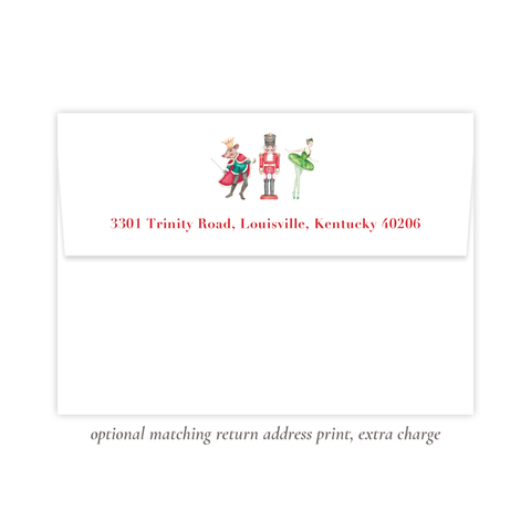 Nutcracker Suite Return Address Print