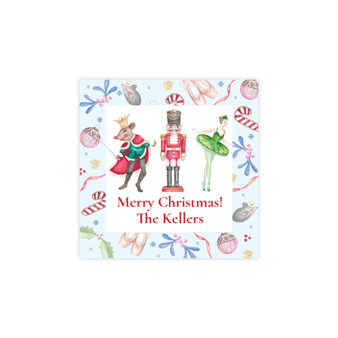 Nutcracker Suite Square Sticker