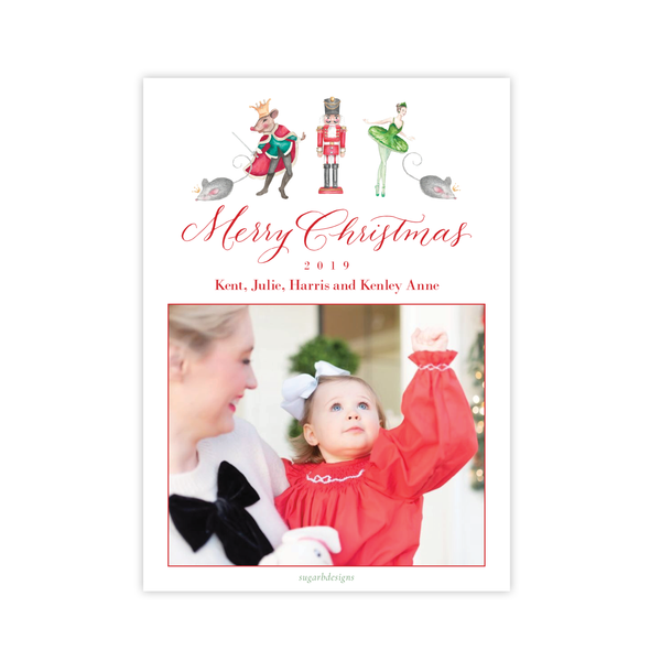 Nutcracker Suite Collection Christmas Card