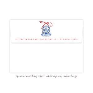 Peden Red Return Address Print