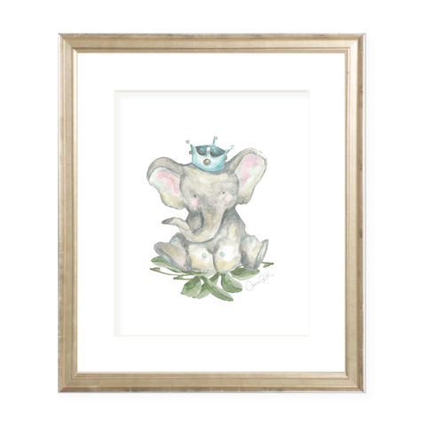 Prince Elie Watercolor Print