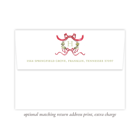 Rothblum Red Return Address Print