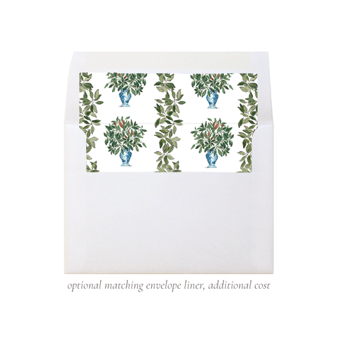 Southern Magnolia A7 Square Envelope Liner