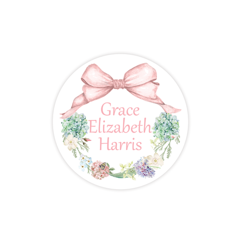 Secret Garden Round Sticker